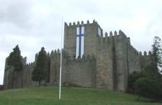 Guimaraes Castle Minho Portugal