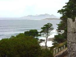 Iles de Cies from Bayona