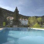Spain - Cazorla - Parador Hotel de Cazorla - one of the Spanish Paradors Paradores
